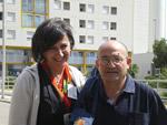 Luciana Delle Donne e Don Raffaele